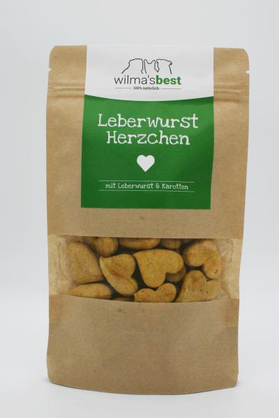Wilma's Best Bio Hundekekse mit Leberwurst und Karotten
