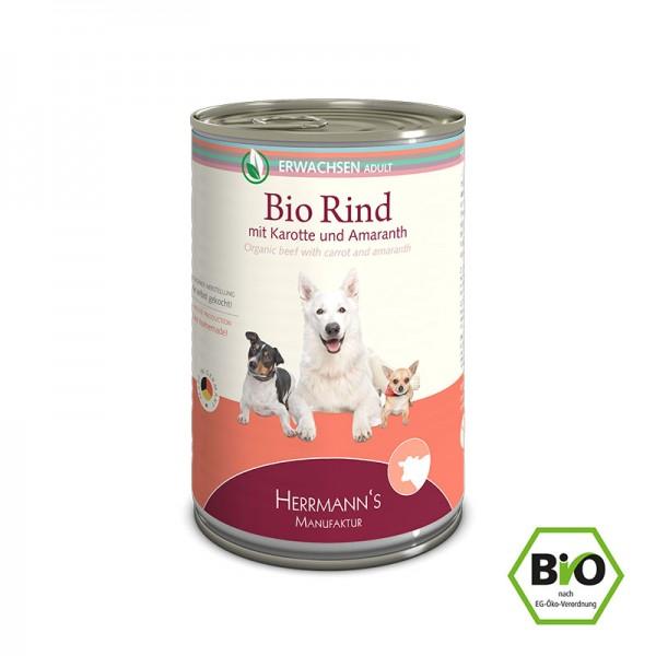 Herrmann's Bio Rind mit Karotten und Amaranth