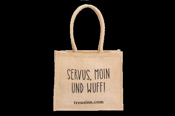"""Treusinn Shopper Jute """"Wuff"""""""