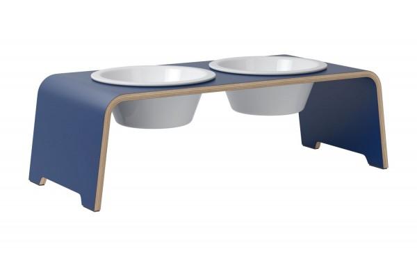 dogBar® Limited - HPL Oxford Blue mit Porzellan