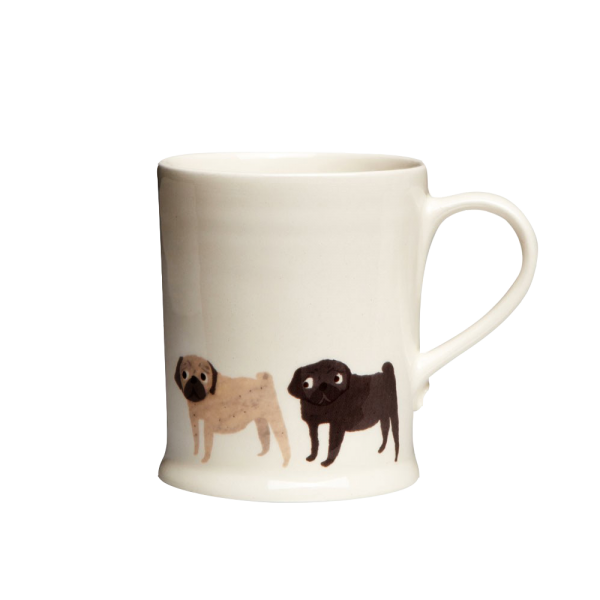 Fenella Smith Tasse Mops