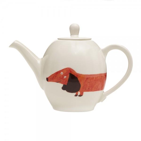 Fenella Smith Tee- und Kaffeekanne Dackel