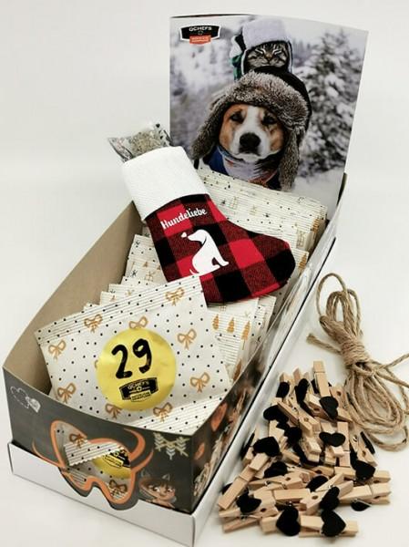 Qchefs Adventskalender für Hunde