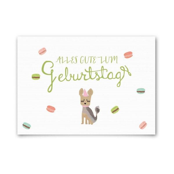 """Nelly Castro Geburtstagskarte """"Alles Gute zum Geburtstag Lola"""""""