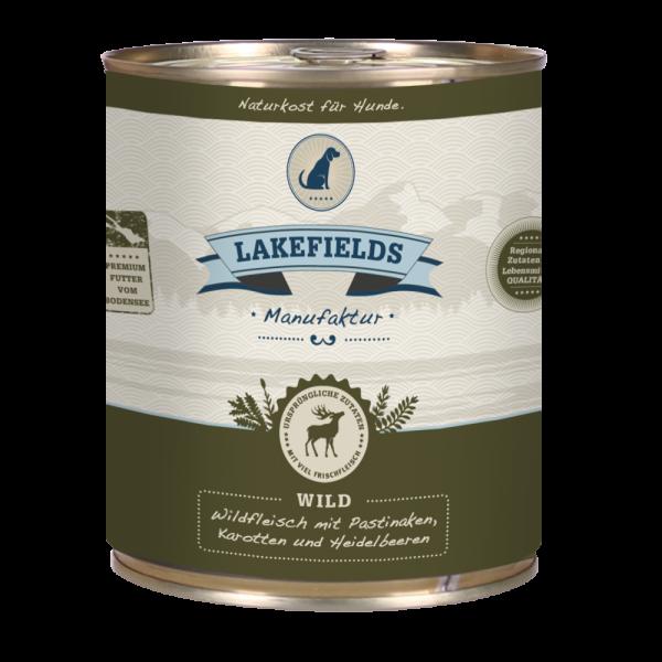"""Lakefields Dosenfleisch-Menü """"Wild"""""""