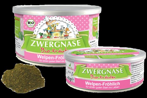 Zwergnase Welpen-Fröhlich (Immunabwehr stärkend) für Hundewelpen