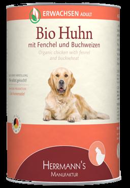 Herrmann's Bio Huhn mit Fenchel, Zucchini und Buchweizen