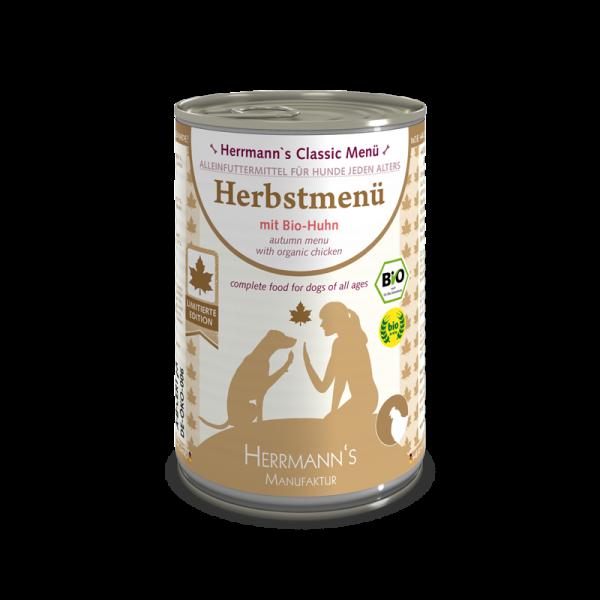 Herrmann's Herbst-Menü (Bio-Huhn mit Nudeln)