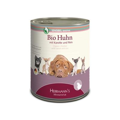 Herrmann's Bio Huhn mit Karotte und Reis