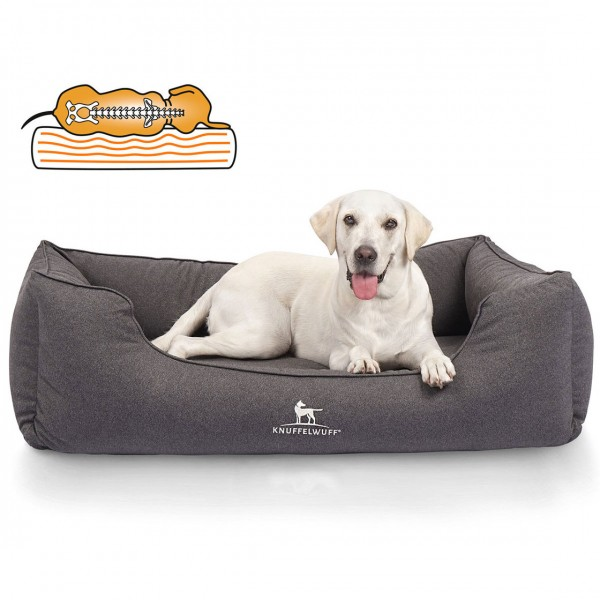 Knuffelwuff Orthopädisches Wasserabweisendes Hundebett Leon